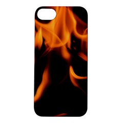 Fire Flame Heat Burn Hot Apple Iphone 5s/ Se Hardshell Case by Nexatart