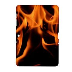 Fire Flame Heat Burn Hot Samsung Galaxy Tab 2 (10 1 ) P5100 Hardshell Case