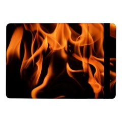 Fire Flame Heat Burn Hot Samsung Galaxy Tab Pro 10 1  Flip Case by Nexatart