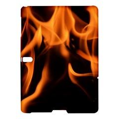 Fire Flame Heat Burn Hot Samsung Galaxy Tab S (10 5 ) Hardshell Case  by Nexatart