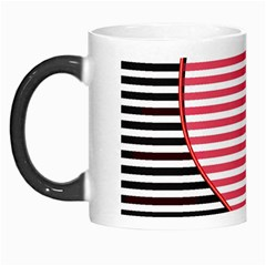 Heart Stripes Symbol Striped Morph Mugs by Nexatart