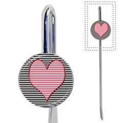 Heart Stripes Symbol Striped Book Mark