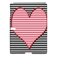 Heart Stripes Symbol Striped Samsung Galaxy Tab S (10 5 ) Hardshell Case  by Nexatart