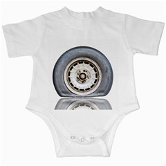 Flat Tire Vehicle Wear Street Infant Creepers by Nexatart