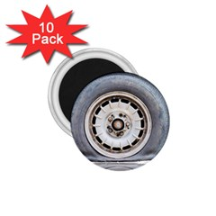 Flat Tire Vehicle Wear Street 1 75  Magnets (10 Pack)