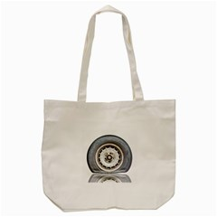 Flat Tire Vehicle Wear Street Tote Bag (cream)