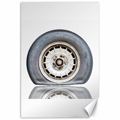 Flat Tire Vehicle Wear Street Canvas 20  X 30