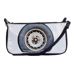 Flat Tire Vehicle Wear Street Shoulder Clutch Bags by Nexatart