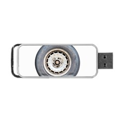 Flat Tire Vehicle Wear Street Portable Usb Flash (two Sides)