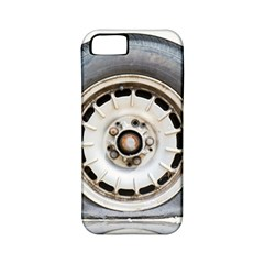 Flat Tire Vehicle Wear Street Apple Iphone 5 Classic Hardshell Case (pc+silicone) by Nexatart