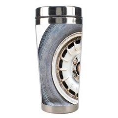 Flat Tire Vehicle Wear Street Stainless Steel Travel Tumblers