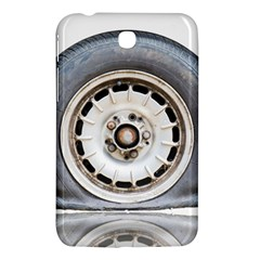 Flat Tire Vehicle Wear Street Samsung Galaxy Tab 3 (7 ) P3200 Hardshell Case  by Nexatart