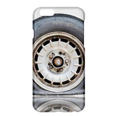 Flat Tire Vehicle Wear Street Apple Iphone 6 Plus/6s Plus Hardshell Case by Nexatart