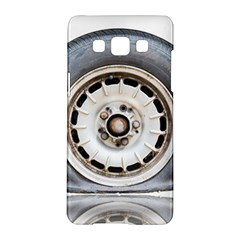 Flat Tire Vehicle Wear Street Samsung Galaxy A5 Hardshell Case  by Nexatart