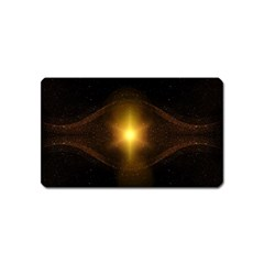 Background Christmas Star Advent Magnet (name Card) by Nexatart