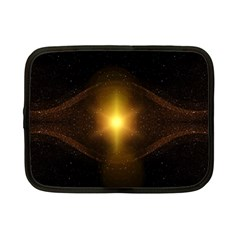 Background Christmas Star Advent Netbook Case (small)  by Nexatart