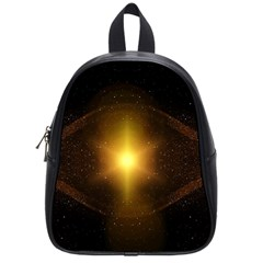 Background Christmas Star Advent School Bags (small)  by Nexatart
