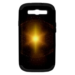 Background Christmas Star Advent Samsung Galaxy S Iii Hardshell Case (pc+silicone)