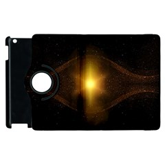 Background Christmas Star Advent Apple Ipad 3/4 Flip 360 Case by Nexatart