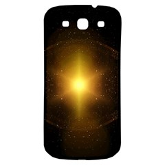 Background Christmas Star Advent Samsung Galaxy S3 S Iii Classic Hardshell Back Case by Nexatart