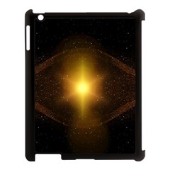 Background Christmas Star Advent Apple Ipad 3/4 Case (black)