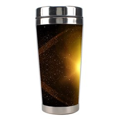 Background Christmas Star Advent Stainless Steel Travel Tumblers by Nexatart
