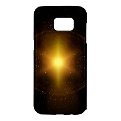 Background Christmas Star Advent Samsung Galaxy S7 Edge Hardshell Case