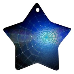 Network Cobweb Networking Bill Ornament (star)