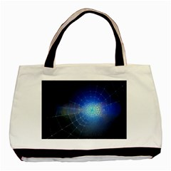 Network Cobweb Networking Bill Basic Tote Bag