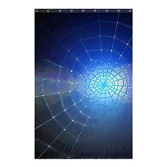Network Cobweb Networking Bill Shower Curtain 48  X 72  (small)