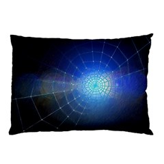 Network Cobweb Networking Bill Pillow Case (two Sides) by Nexatart