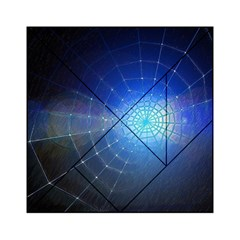 Network Cobweb Networking Bill Acrylic Tangram Puzzle (6  X 6 ) by Nexatart