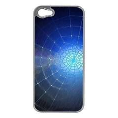 Network Cobweb Networking Bill Apple Iphone 5 Case (silver)