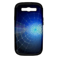 Network Cobweb Networking Bill Samsung Galaxy S Iii Hardshell Case (pc+silicone) by Nexatart