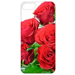 A Bouquet Of Roses On A White Background Apple Iphone 5 Classic Hardshell Case by Nexatart
