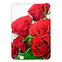 A Bouquet Of Roses On A White Background Kindle Fire Hd 8 9  by Nexatart