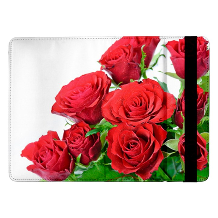 A Bouquet Of Roses On A White Background Samsung Galaxy Tab Pro 12.2  Flip Case