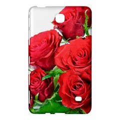 A Bouquet Of Roses On A White Background Samsung Galaxy Tab 4 (7 ) Hardshell Case  by Nexatart