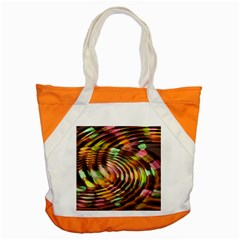 Wave Rings Circle Abstract Accent Tote Bag by Nexatart