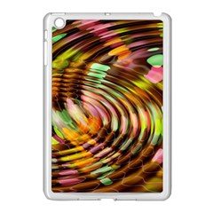 Wave Rings Circle Abstract Apple Ipad Mini Case (white)