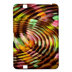 Wave Rings Circle Abstract Kindle Fire Hd 8 9