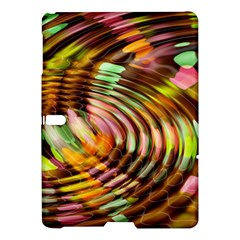 Wave Rings Circle Abstract Samsung Galaxy Tab S (10 5 ) Hardshell Case  by Nexatart