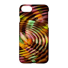 Wave Rings Circle Abstract Apple Iphone 7 Hardshell Case by Nexatart
