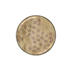 Parchment Paper Old Leaves Leaf Hat Clip Ball Marker (4 Pack) by Nexatart