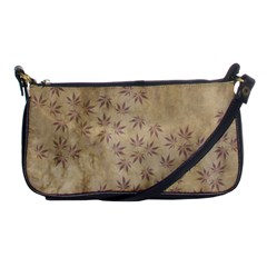 Parchment Paper Old Leaves Leaf Shoulder Clutch Bags by Nexatart