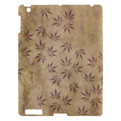 Parchment Paper Old Leaves Leaf Apple Ipad 3/4 Hardshell Case by Nexatart