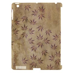 Parchment Paper Old Leaves Leaf Apple Ipad 3/4 Hardshell Case (compatible With Smart Cover) by Nexatart