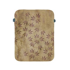 Parchment Paper Old Leaves Leaf Apple Ipad 2/3/4 Protective Soft Cases
