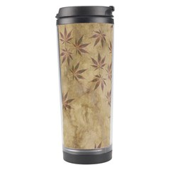 Parchment Paper Old Leaves Leaf Travel Tumbler