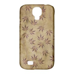 Parchment Paper Old Leaves Leaf Samsung Galaxy S4 Classic Hardshell Case (pc+silicone)